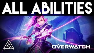 Overwatch | Sombra All Abilities & Gameplay Style Overview