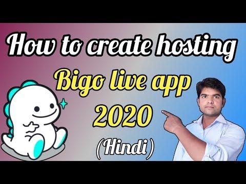 Bigo Live App 2020. How To Create Hosting In Bigo Live App. - Tech With Param