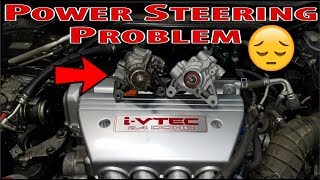 Acura TSX Power Steering Pump Replacement