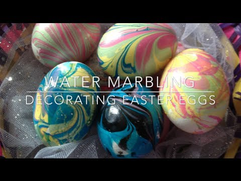 DIY: Marbled Eggs ♡ {Easter Egg Decorating} ♡ Jessica Joaquin ...