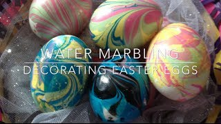 Repeat youtube video DIY: Marbled Eggs ♡ {Easter Egg Decorating} ♡ Jessica Joaquin