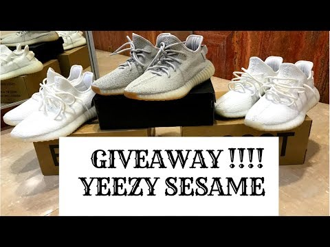 YEEZY SESAME 350 V2 GIVEAWAY !!!! + Review and On Feet