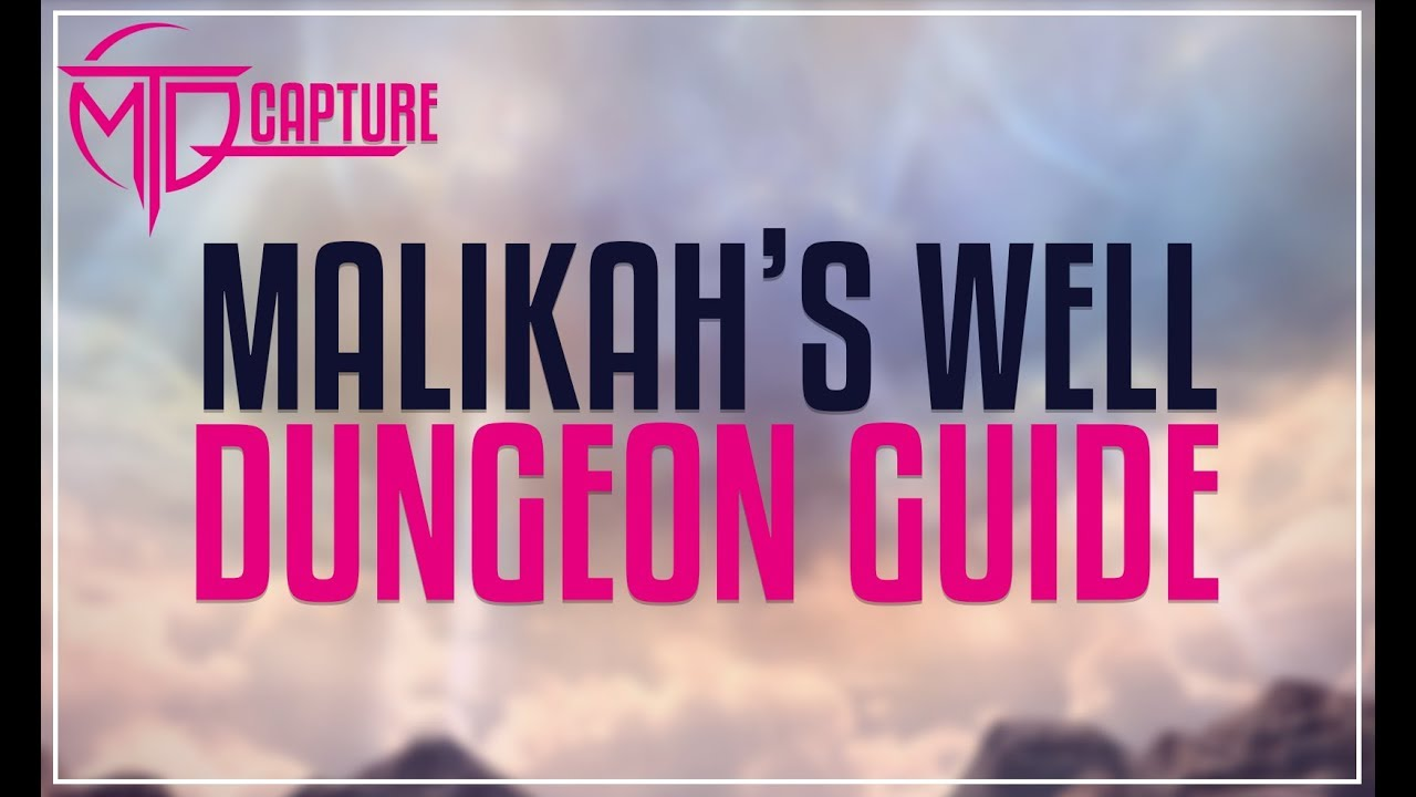 Malikah's Well Dungeon Guide - FFXIV