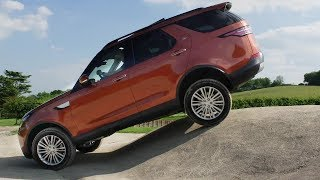 2019 Land Rover Discovery. Off-road Test Drive and Review.