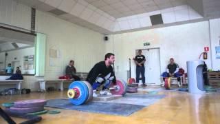 Клоков Дмитрий - рывок с возв. 203 кг