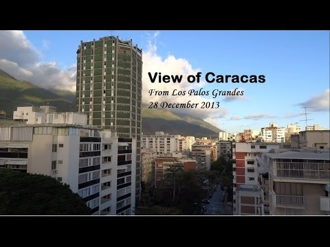 View Of Caracas From Los Palos Grandes