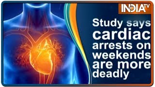 Study says cardiac arrests on weekends are more deadly