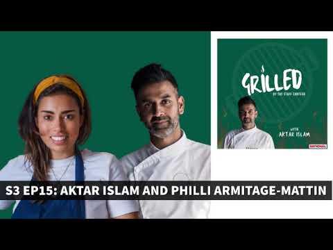 Michelin-starred chef Aktar Islam & Masterchef's Philli Armitage-Mattin Grilled by The Staff Canteen