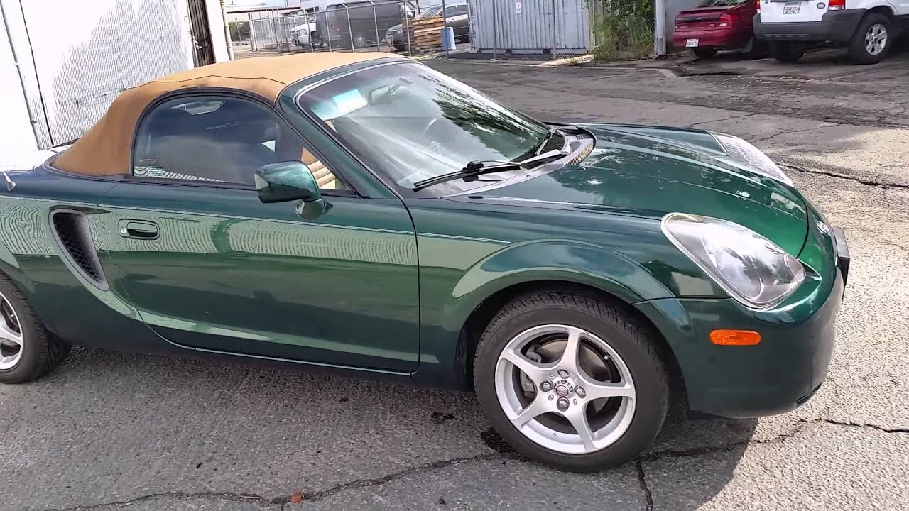 2001 Toyota Mr2 Spyder Convertible - Car Donation In Imperial California
