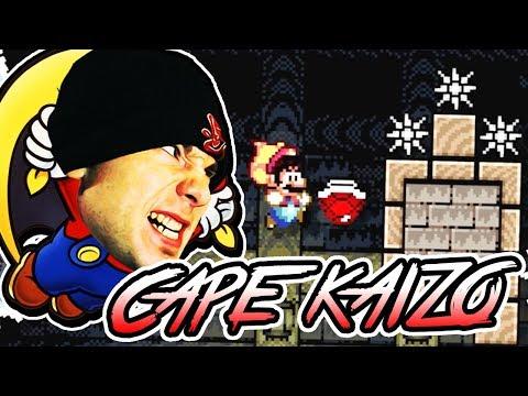KAIZO CAPE TRICKS IN SUPER EXPERT ~ Super Mario Super Expert