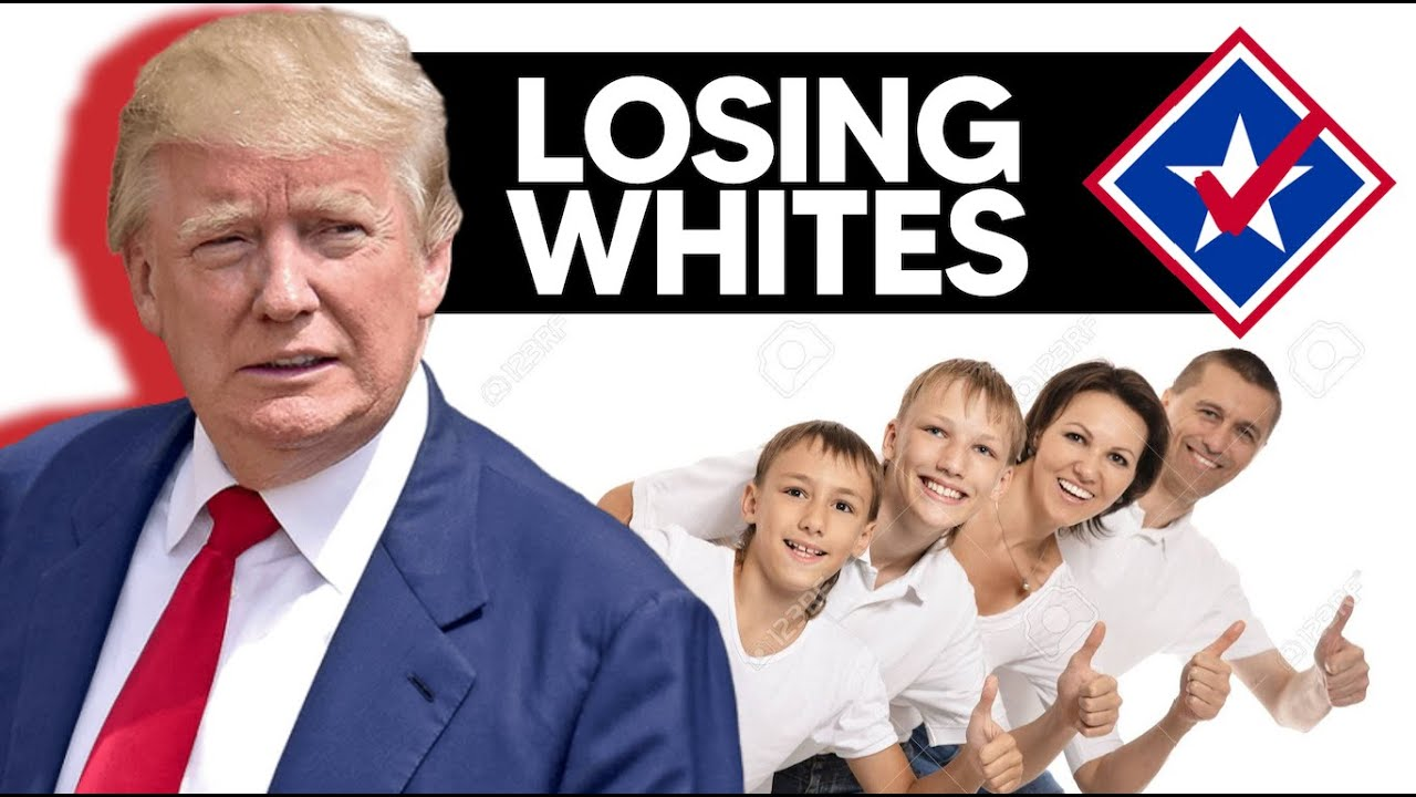 Donald Trump Has Lost a HUGE Amount of White Voters