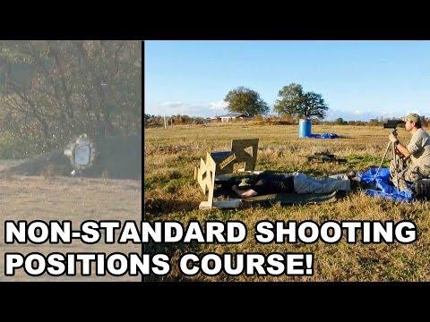 Non-Standard Shooting Positions! Raidon Tactics' Long Range Training
