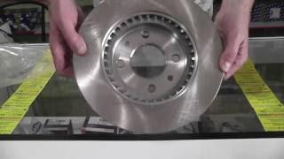 Тормозной диск Рено логан кенго Renault Logan Kangoo KLAXCAR FRANCE 25006z