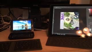 GPD Win, Unity3D, Photoshop, Visual Studio, Duet Display, and Ipad Pro