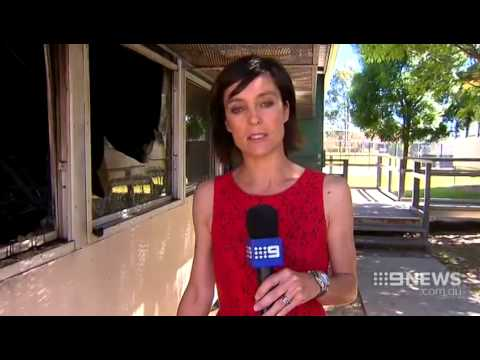 School Burns | 9 News Perth