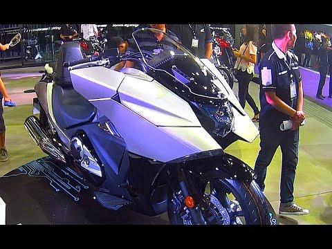 Honda NM4, BIG WING, Big bike NM4, model 2016, video review