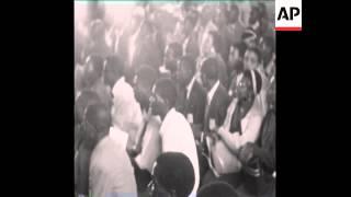 CAN210 THE INAUGRAL ZANU CONGRESS IS HELD IN GWELO, RHODESIA