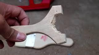 誰都可以制作的彈弓,十分鐘完成 how to make a slingshot in ten minutes.
