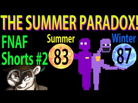 THE SUMMER PARADOX! - FNAF Theory Shorts #2 - The Ferret Theory