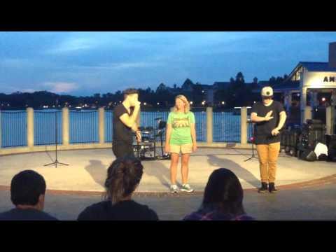 Disney Springs Rap Group