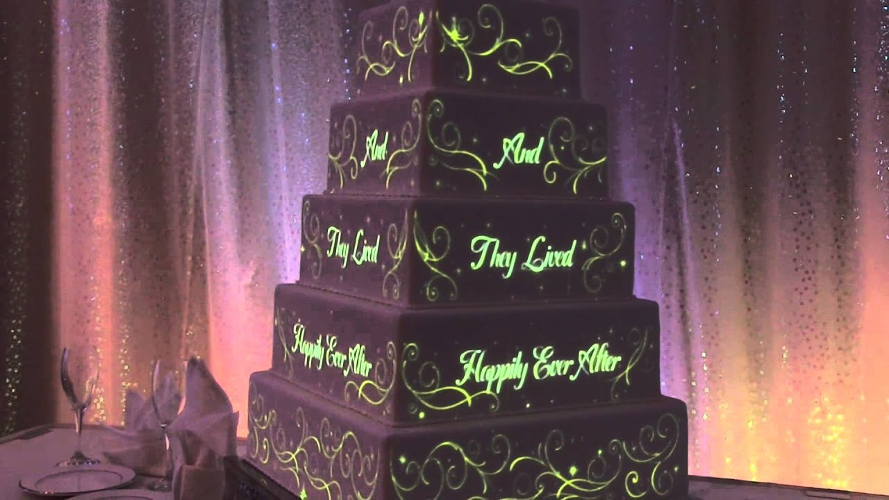 Disney Wedding Cake Projection