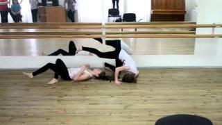 Сценическое движение:Сценический бой №3