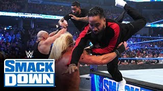 The Usos rush to the aid of Roman Reigns: SmackDown, Jan. 3, 2020