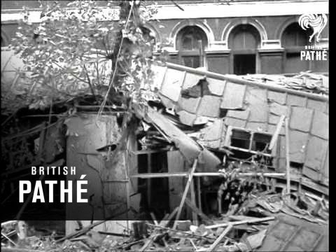 St. Thomas's Hospital Bombed (1940)