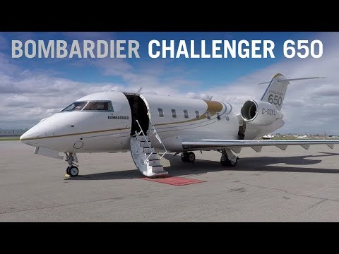 Flying Aboard the Bombardier Challenger 650 Business Jet – A