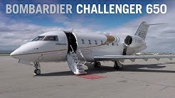Flying Aboard the Bombardier Challenger 650 Business Jet – AINtv