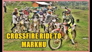 CROSSFIRE RIDE TO MARKHU | DAILY VLOG DAY 16 | KICHHY VLOGS