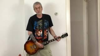 RAMONES - Cretin Hop (guitar cover remake)
