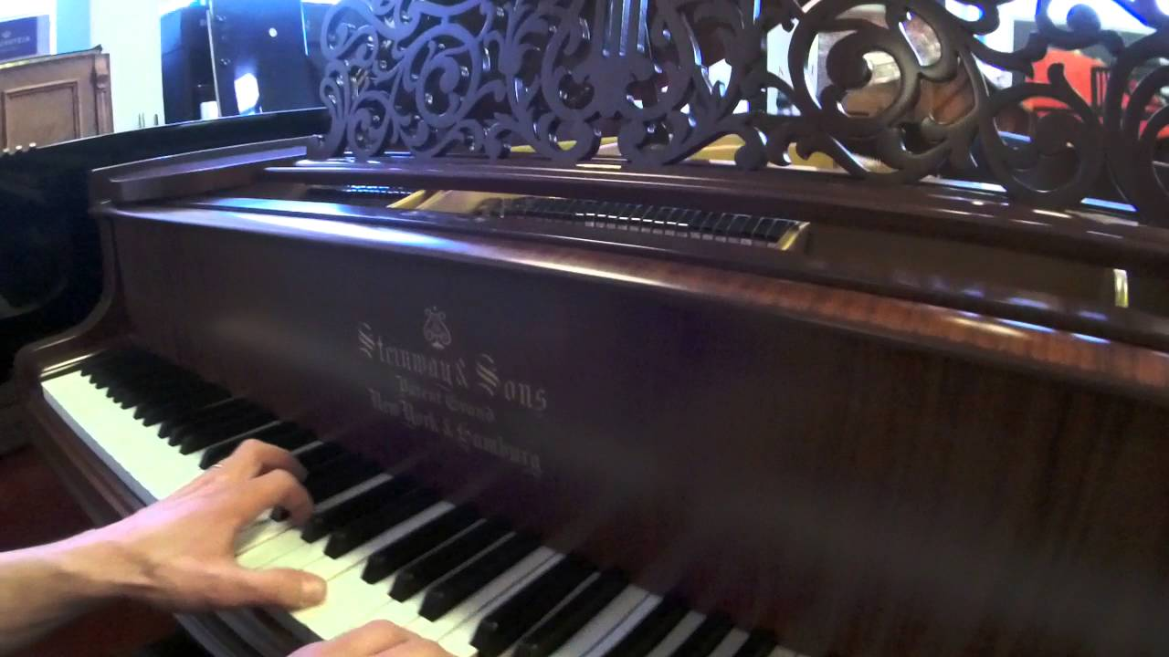 Piano à Queue Steinway U0026 Sons Modèle O