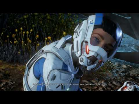 First 25 minutes of Mass Effect: Andromeda gameplay