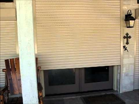 Security Shutters Austin TX Home or business motorized rolling metal shutters