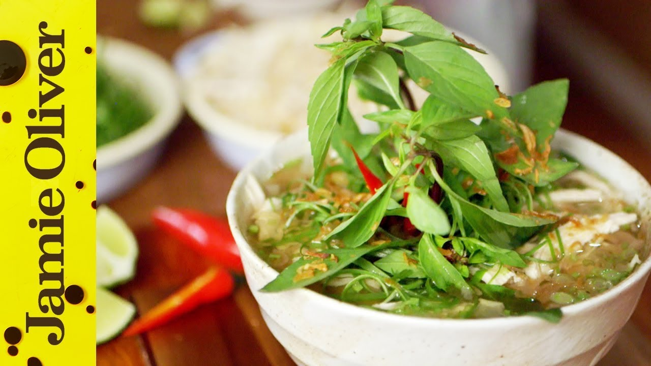 Vietnamese 'Pho Ga' Chicken Noodle Soup | Thuy Pham-Kelly - YouTube
