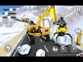 Snow Excavator Gigantic Crane 3D - Free Android Game