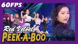 60FPS 1080P | RED VELVET - Peek-A-Boo, 레드벨벳 - 피카부 Show Music Core 20171209