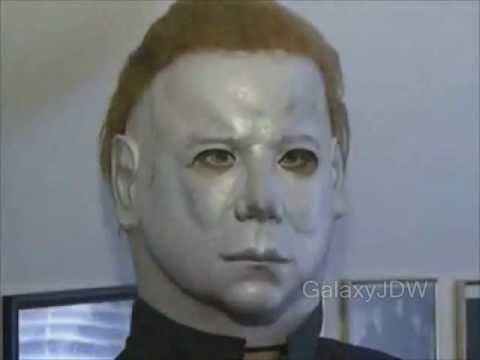 The actual Halloween II mask, props from the film and the Ken Hertlein RARE mask.