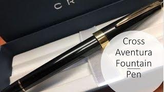 Cross Aventura Fountain Pen Review screenshot 4