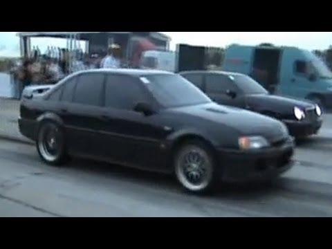 lotus omega carlton vs mercedes e55 amg drag race 1 4. Black Bedroom Furniture Sets. Home Design Ideas