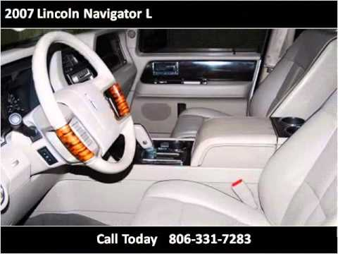 2007 lincoln navigator l used cars amarillo tx youtube for Integrity motors amarillo tx
