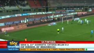Catania-AC Milan 0-2