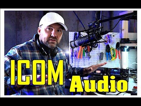 iCom 7300 AUDIO test