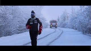 Паоло Вентурини пробежал марафон на Полюсе Холода
