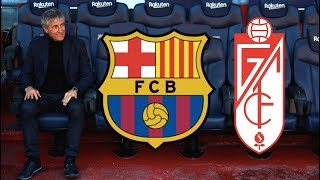 Barcelona vs Granada, La Liga 2020 - MATCH PREVIEW (Quique Setien's First Match)