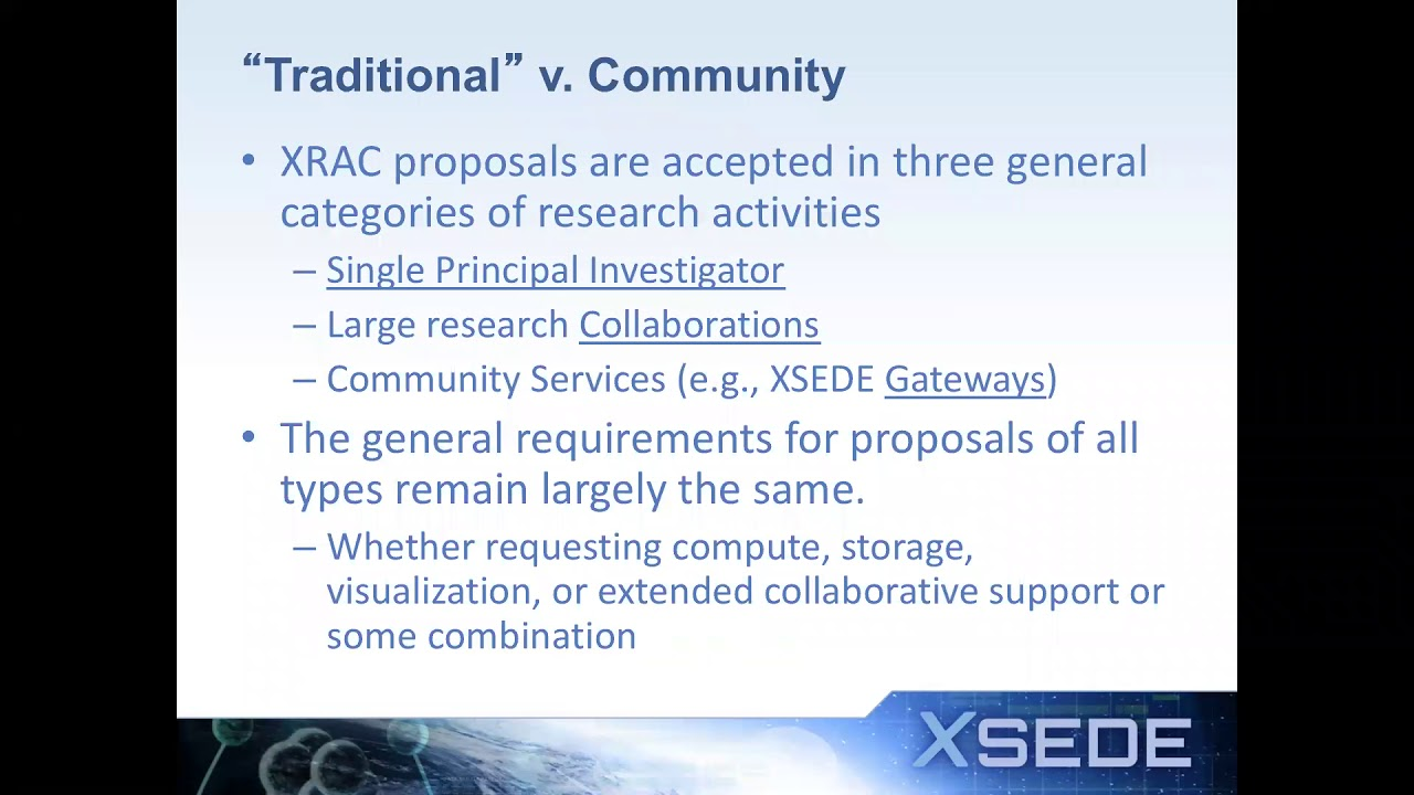 XSEDE User Portal | XSEDE Research Allocations