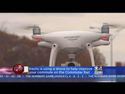 Pitts Stop: Keolis Using Drone To Improve Commuter Rail Travel
