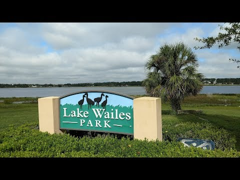 Our Home Town of Lake Wales Florida From the Sky