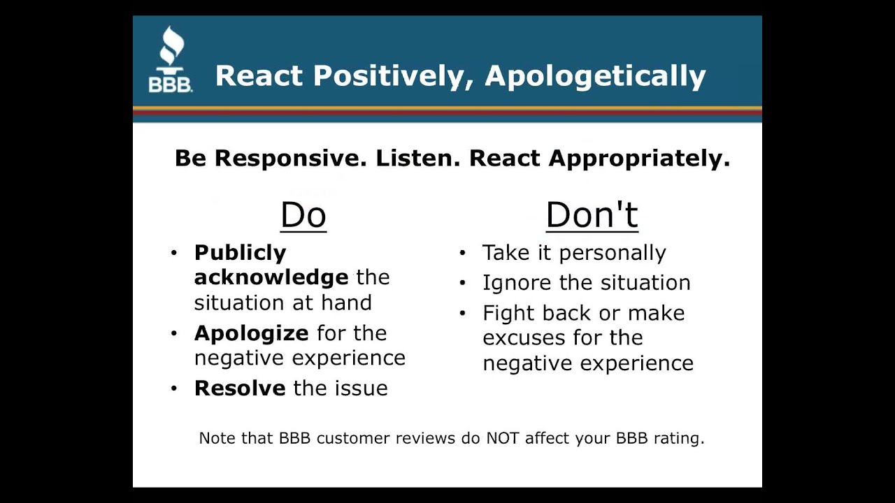 Tips In 10 Minutes: How To Respond To A Negative Online Review
